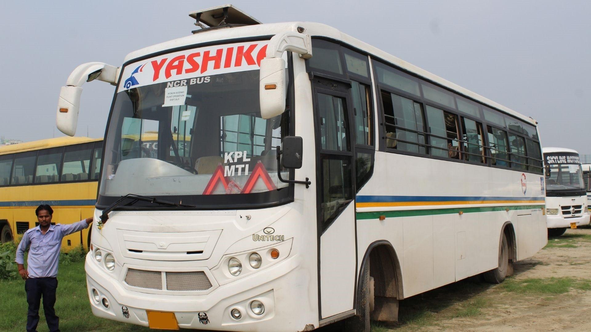 hire bus in noida, greater noida & ghaziabad